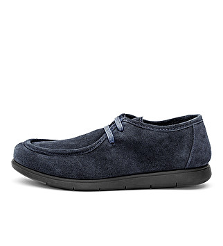 Suede chukka lace up
