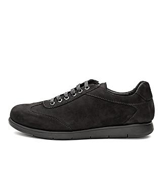 Suede flexible sneaker