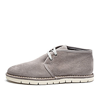 Unlined suede desert boots