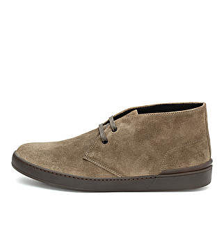 Suede city ankle boot