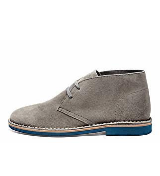 Seude desert boots w/ EVA sole