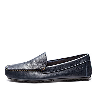 Unlined leather slip-ons