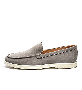 Suede casual loafers