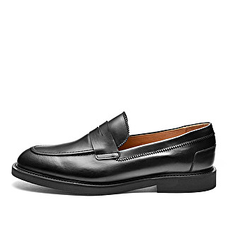Leather Adler loafers