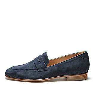 Band loafers w/ leather sole