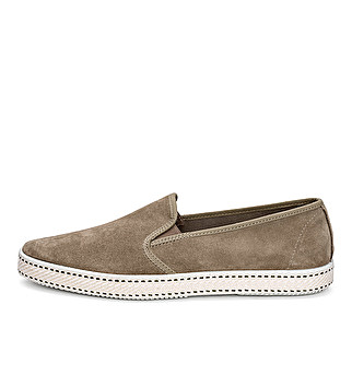 Summer suede slip-on
