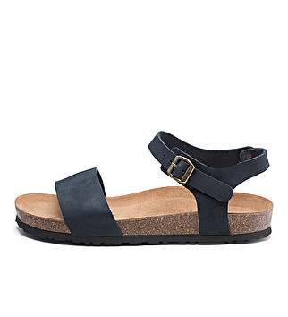 Unlined nubuck sandals