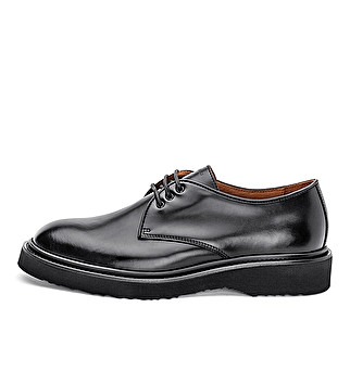 Leather urban smooth derby