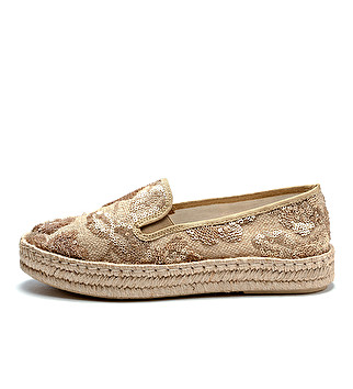 Sporty-chic espadrilles
