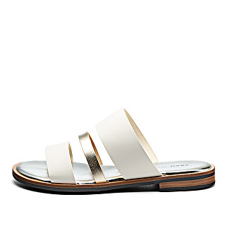 Glamour leather sliders