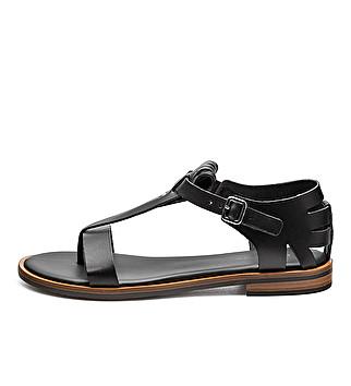 Roman-inspired letaher sandals