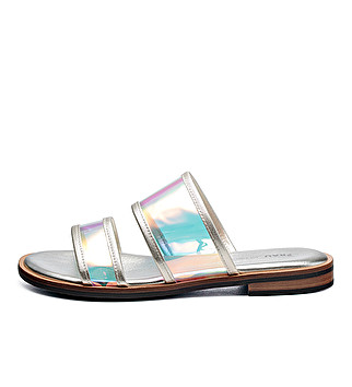 Plexiglass and leather sliders