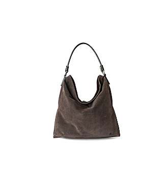 Soft suede bag