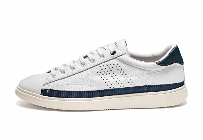 af01279c4340 Leather sporty sneakers