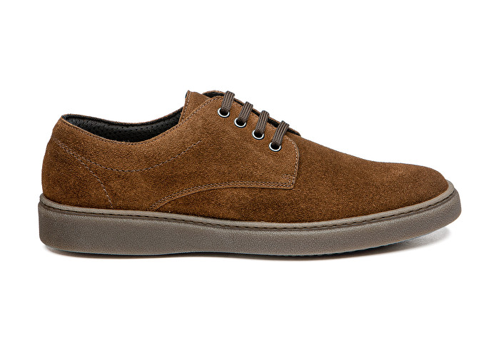 picked up outlet on sale wholesale online Casual suede Derby shoes, colour Brown   Frau