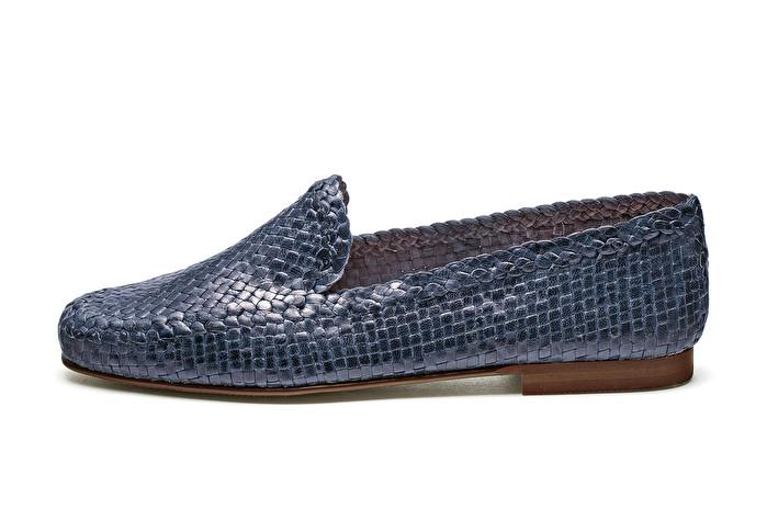 Leder Raffinierter Loafer Raffinierter Aus Loafer Leder Raffinierter Geflochtenem Loafer Aus Geflochtenem Aus nv0Omw8N